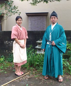 Ms. Matayoshi and Mr. Arimoto: Shop owners of Shisouan